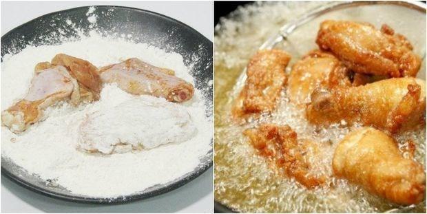 Cách làm gà rang muối thơm ngon tại nhà