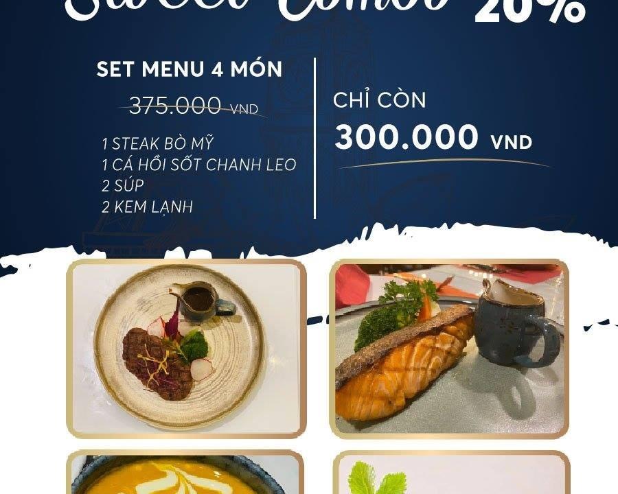Ở Hà Nội, ăn bít tết kiểu Pháp tại nhà hàng Steak de l'amour